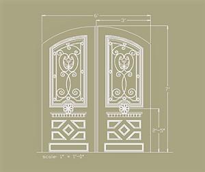 Elegant Entry Custom Design